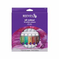 [terlaris] REEVES Oil Colour Paint Set 18 pcs
