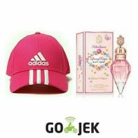 Paket Hemat Parfum Katty Perry Spring Reign Pink With Topi Adidas Pi