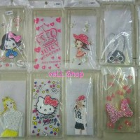 Softcase Gambar Girly Blink for Oppo F1 A35 F1 Plus R9