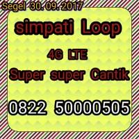 Jual Pernah Nomor Simpati Loop Super Super Mantap 50000505, 4G Pula Murah
