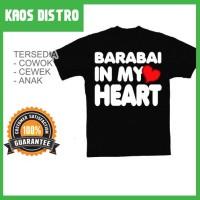 Kaos BARABAI In My Heart SV-BAR22