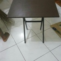 meja lipat / meja bazar / meja makan / meja cafe / meja restaurant