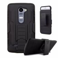 Hardcase Bumper Police Armor Belt Hard Soft Case Casing LG Stylus 2