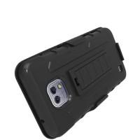 Hardcase Bumper Police Armor Belt Hard Case Cover Casing LG X Screen
