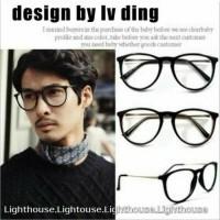 frame kacamata baca minus pria wanita cewe cowo murah keren korea