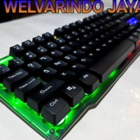 KEYBOARD GAMING MULTIMEDIA HAVIT MAGIC EAGLE LED