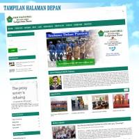 Web Sekolah + PSB ( penerimaan siswa baru Online ) Responsive