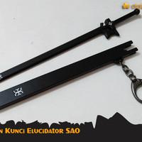 GANTUNGAN KUNCI PEDANG ELUCIDATOR KIRITO SAO