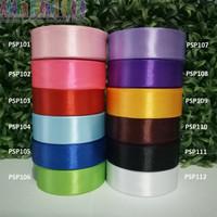Jual PSP1 - Pita Satin Polos Uk 1 Inch / 2,5 cm ( Per Rol ) Murah