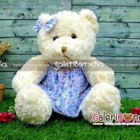 Jual Boneka Teddy Bear Dress Pita Imut ( BT - 378340 ) Murah