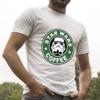 Star Wars Coffee Star BuckT shirt