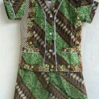 Baju Tidur / Piyama / Piama Anak Motif Batik Size M