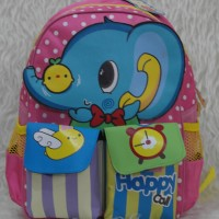 harga Tas Ransel Sekolah Anak Little V 43943 Happy Call Tokopedia.com