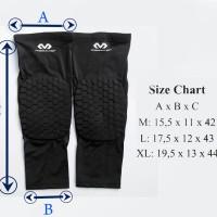 Leg Sleeve Long Mc David with Pad