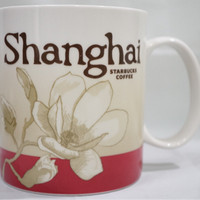 Starbucks Mug Glass Gelas Shanghai China