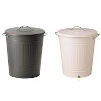 IKEA KNODD, Tempat sampah dg penutup, 40 L Pilihan Warna