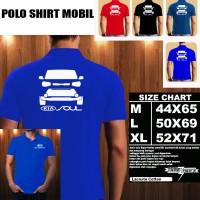 Polo Shirt Otomotif Mobil KIA SOUL SILUET TD/Kaos Kerah/Baju Kerah