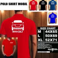 Polo Shirt Otomotif Mobil DATSUN REDI GO SILUET TD/Kaos Kerah/Baju