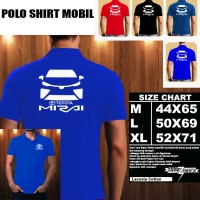 Polo Shirt Otomotif Mobil TOYOTA MIRAI SILUET TD/Kaos Kerah/Baju