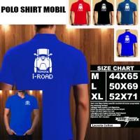 Polo Shirt Otomotif Mobil TOYOTA I ROAD SILUET TD/Kaos Kerah/Baju