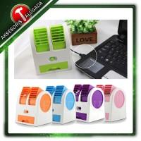 Jual Kipas Angin Aromaterapi Parfum / AC Mini Portable Double Cooler Fan Murah