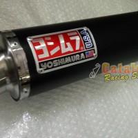 harga Knalpot Racing Byson/tiger/verza/megapro Yohimura Bulat Mega Bass Tokopedia.com