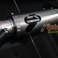 harga Knalpot Racing Byson/tiger/verza/megapro Termignoni Drag Custom Tokopedia.com