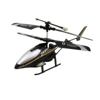 Heng Xiang HX-718 3.5 Channel RC Helicopter with Gyro - Black
