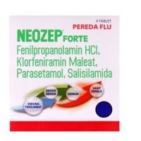 Neozep forte tablet pereda flu isi 4 kaplet