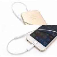 harga Kabel Lightning Ke 3.5mm To 3.5mm Headphone Headset For Iphone 7 Tokopedia.com
