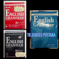 English Grammar Paket 3 Buku ( Betty Schrampfer Azar )