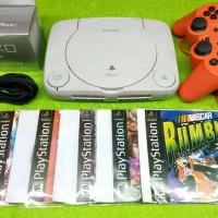 Playstation 1 / PS 1 / PS1 / PS One Slim Siap Main