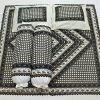 Sprei Batik Pekalongan Motif Kawung, uk. 180 / No. 1 sarban 4-2