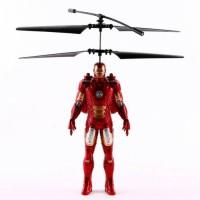 Flying Avenger Batman, Hulk, Ironman Terbang Mainan Anak Bisa Dicharge
