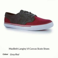 MACBETH LANGLEY VI grey/red SIZE 8 (42)