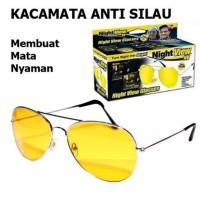 Night View Glass Kacamata Anti Silau Ultra Violet Kacamata Setir Mobil