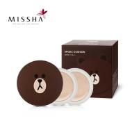 Jual Missha line cushion magic brown Murah