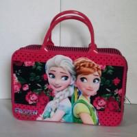 Jual Travel Bag /Tas Jalan Anak Kanvas Frozen PK052 Murah
