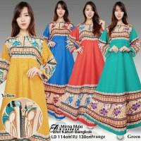 Pakaian Dres Mirna Maxi Dress Fashion Wanita