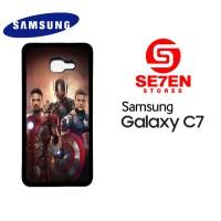 Casing HP Samsung C7 avengers poster Custom Hardcase Cover