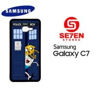 Casing HP Samsung C7 Adventure Time Jake Finn Custom Hardcase Cover