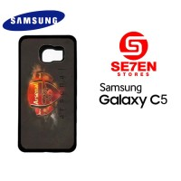 Casing HP Samsung C5 Arsenal Wallpaper 33 Custom Hardcase Cover