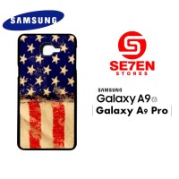 Casing HP Samsung A9 2016 A9 Pro American Flag 3 Custom Hardcase Cover