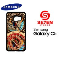 Casing HP Samsung C5 Astronomical Clock Custom Hardcase Cover