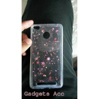 Softcase Glitter Bintang For Samsung J2, J3 Dan J5