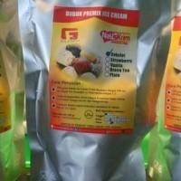 Jual Bubuk Es Krim Coklat / Bahan Es Krim Fugi / Ice Cream Powder Murah