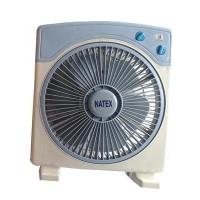 Natex NT-121T Box Fan 12 inch Timer - Kipas Angin Kotak - Duduk -