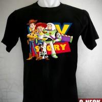 Kaos Toy Story Woody, Jessie, And Buzz