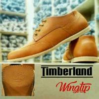 BIG SALE!! Sepatu Casual Pria Timberland Wingtip Terbaru. for