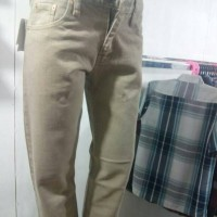 celana jeans levis cream big size 38-44